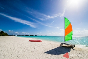 Pláž na ostrově Lankanfinolhu - Paradise Island Resort
