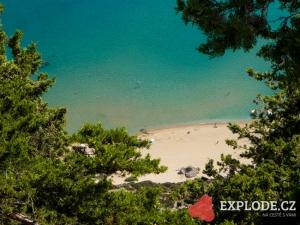 Vyhlídka nad pláží Tsambika