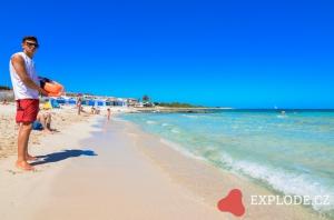 Pláž Punta Prima