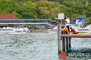 Přístav Padang Bai