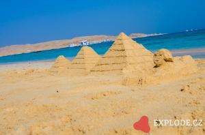 Pláž ostrov Giftun